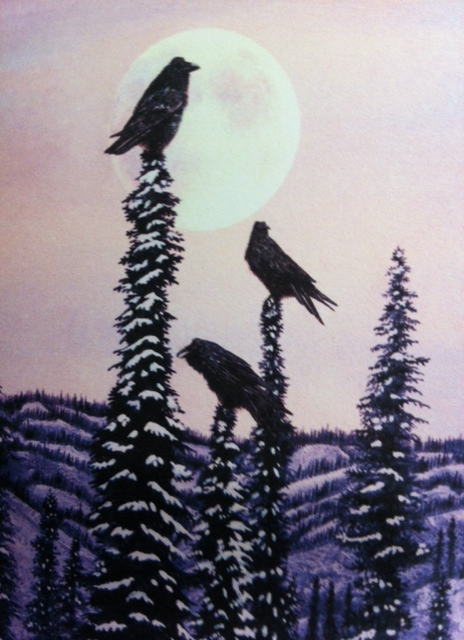 Dawn Patrol: Painting by Heidi Hehens