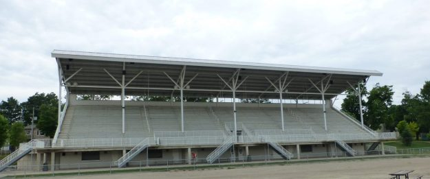 New Hamburg Grandstand (built in 1874, destroyed by fire and replaced in 2007)