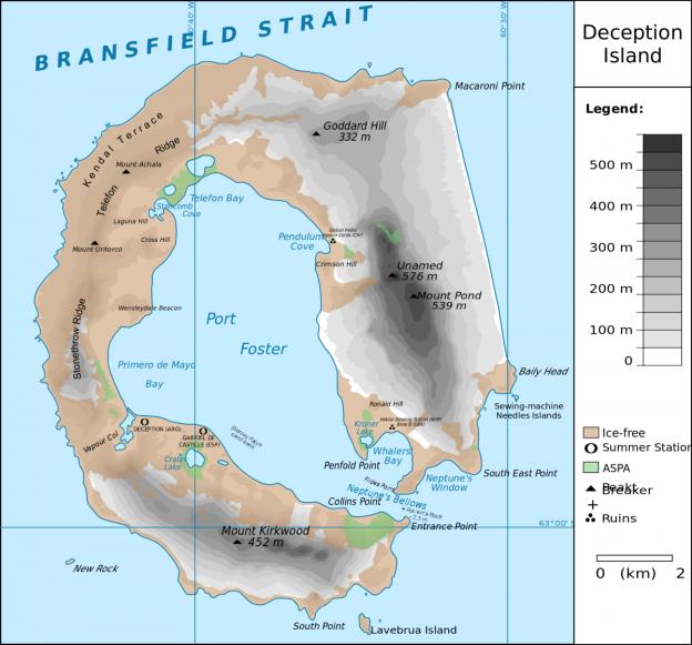 Deception Island (photo: wikimedia)